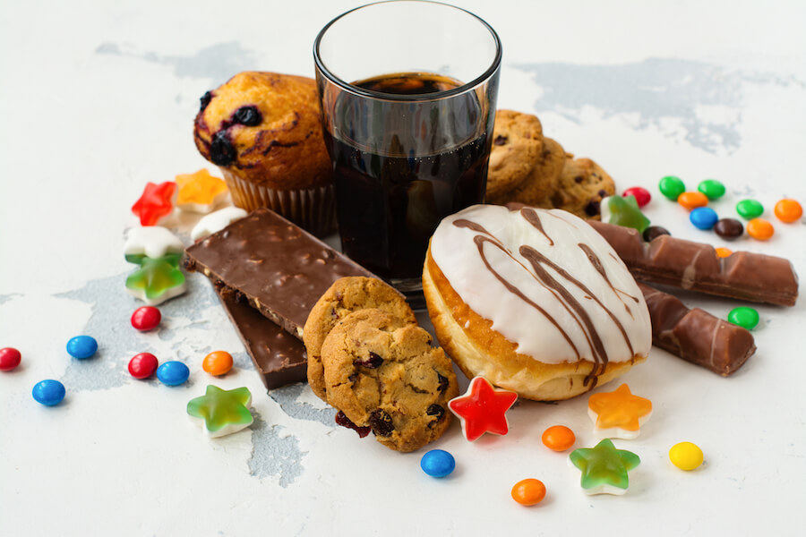Food with high sugar level - Ketogenic Diet Guide