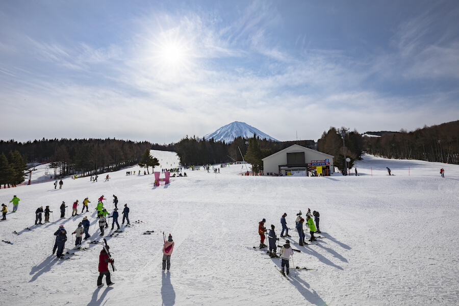 Fujiten Snow Resort - top places to view mount Fuji