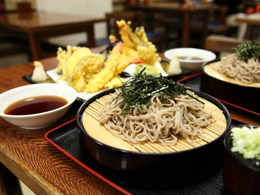 Mori Soba - 10 Food you need to try in Japan