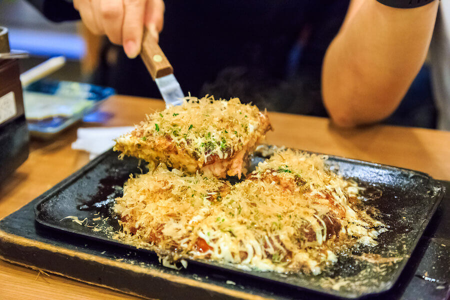 Okonomiyaki - 10 Food you need to try in Japan