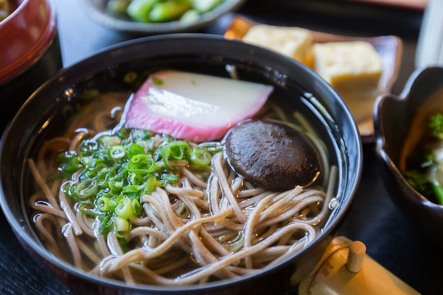 Soba Noodle Soup - 10 Food you need to try in Japan