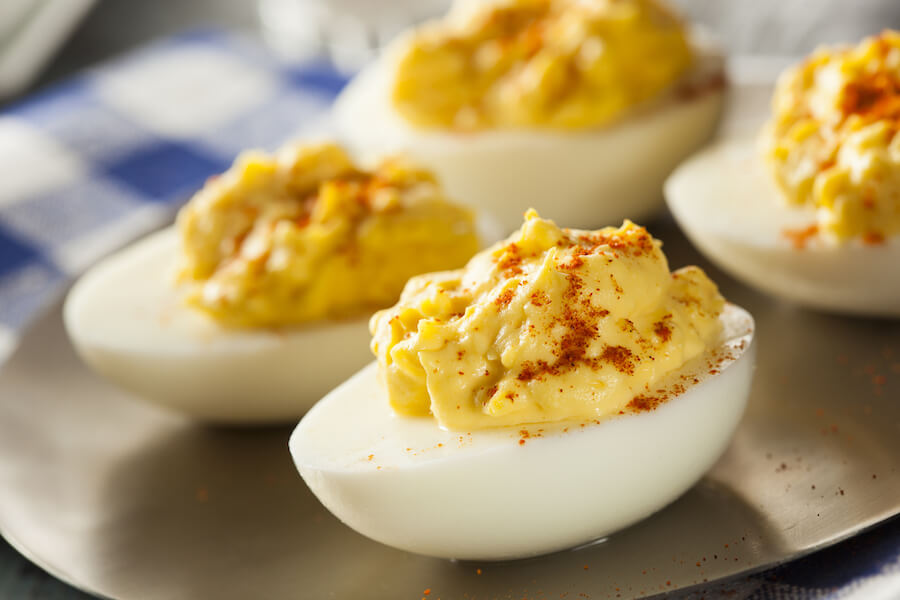 Healthy Deviled Eggs as an Appetizer - Keto Hacks