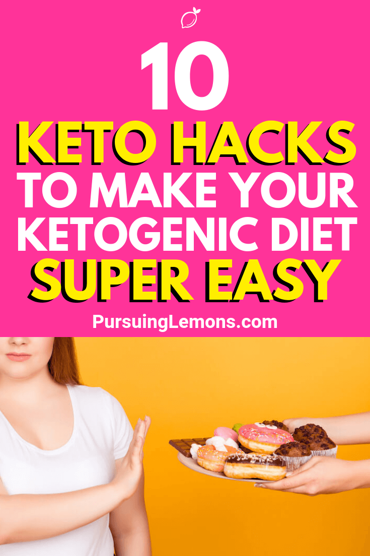 Starting out on the ketogenic diet? Use these hacks right now to make your keto diet journey super easy today!
