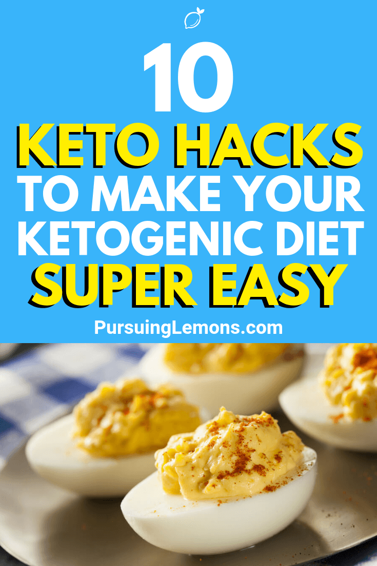 Sticking to any diet can be hard, especially the keto diet. But, you can your ketogenic diet super easy with these hacks!