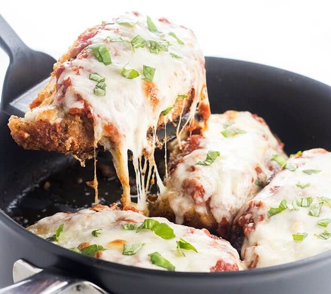 LOW CARB KETO CHICKEN PARMESAN - Keto Recipes