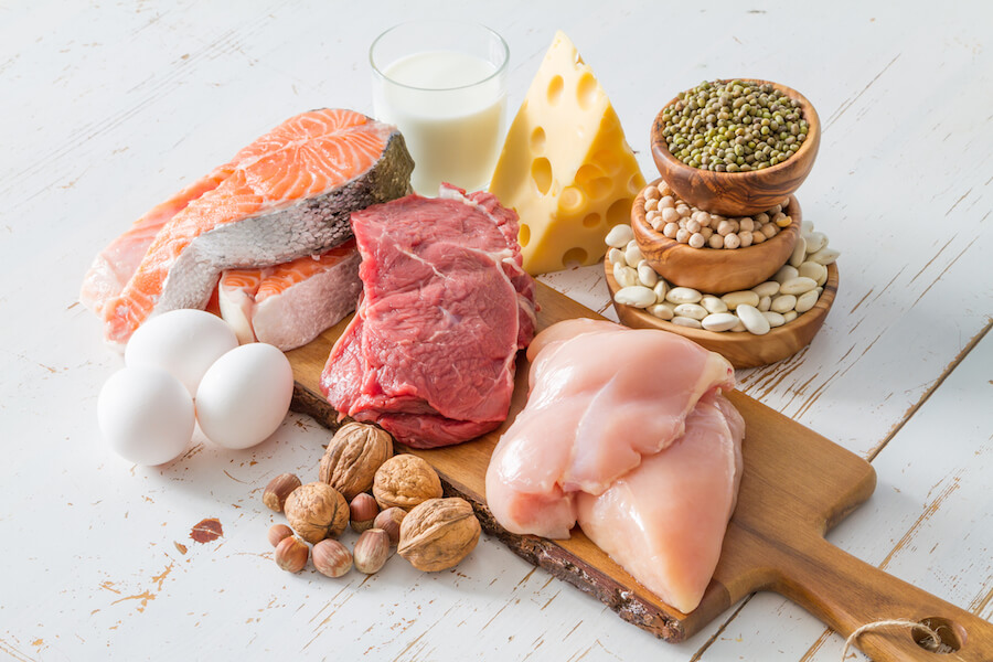 Selection of protein sources - how to get into ketosis