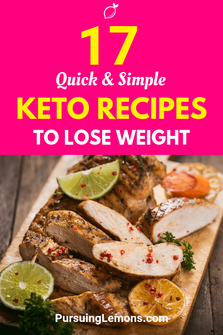 Are you looking for more keto recipes to add into your ketogenic diet lunch and dinner menu? Here are some quick and simple ketogenic recipes for you!