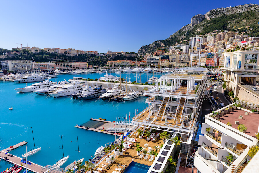 Cityscape and harbor of Monte Carlo - Places To Visit