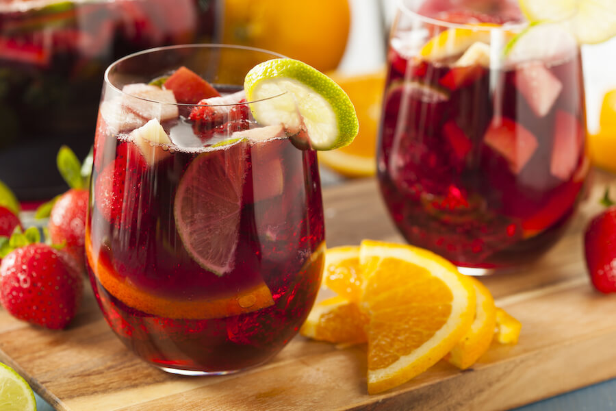Homemade Delicious Red Sangria - Keto Alcohol Recipes