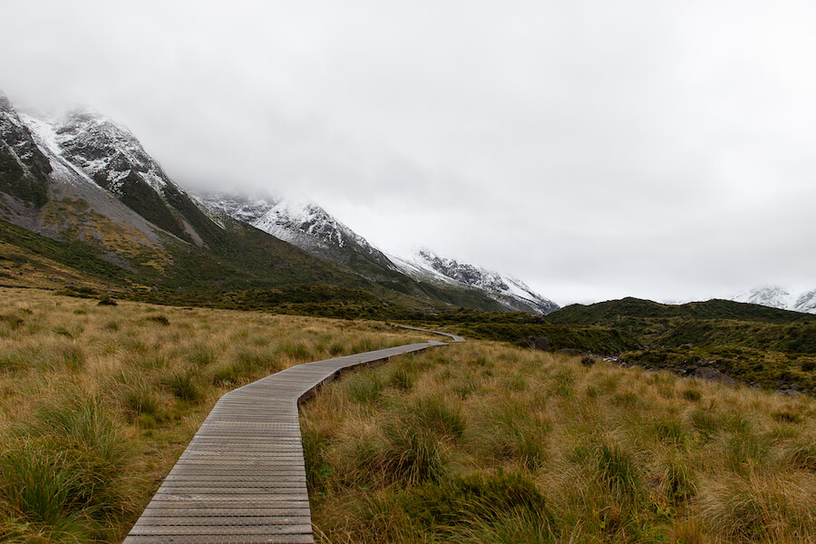Hooker Valley Boardwalk - south island - Places To Visit