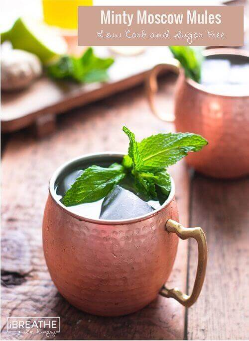 Moscow Mule - Keto Alcohol Recipes