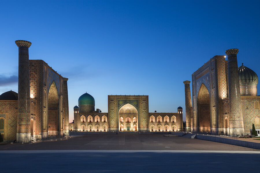 Registan Square in Samarkand, Uzbekistan - Places To Visit