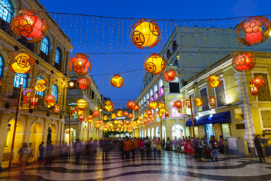 Senado Square, Macau - Places To Visit
