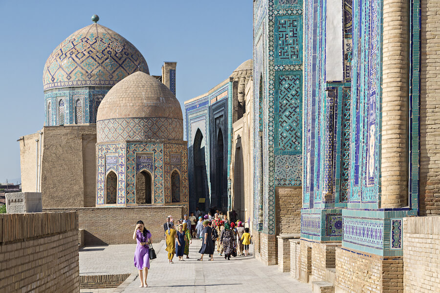 Shahi Zinda, in Samarkand, Uzbekistan - Places To Visit