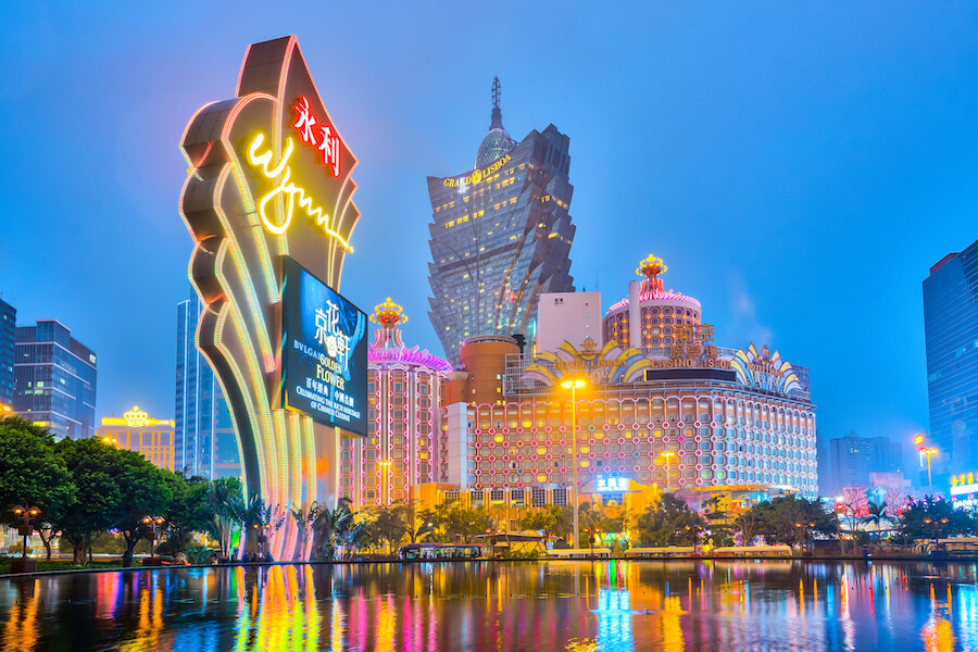 The Buildings of casino in Macau, China - Places To Visit