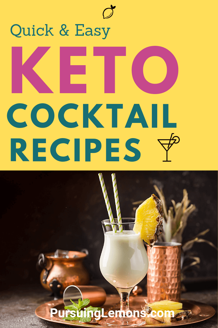 Create the best ketogenic cocktail you've ever had with these keto-approved alcohol recipes. Have fun partying with these keto alcohol drinks!