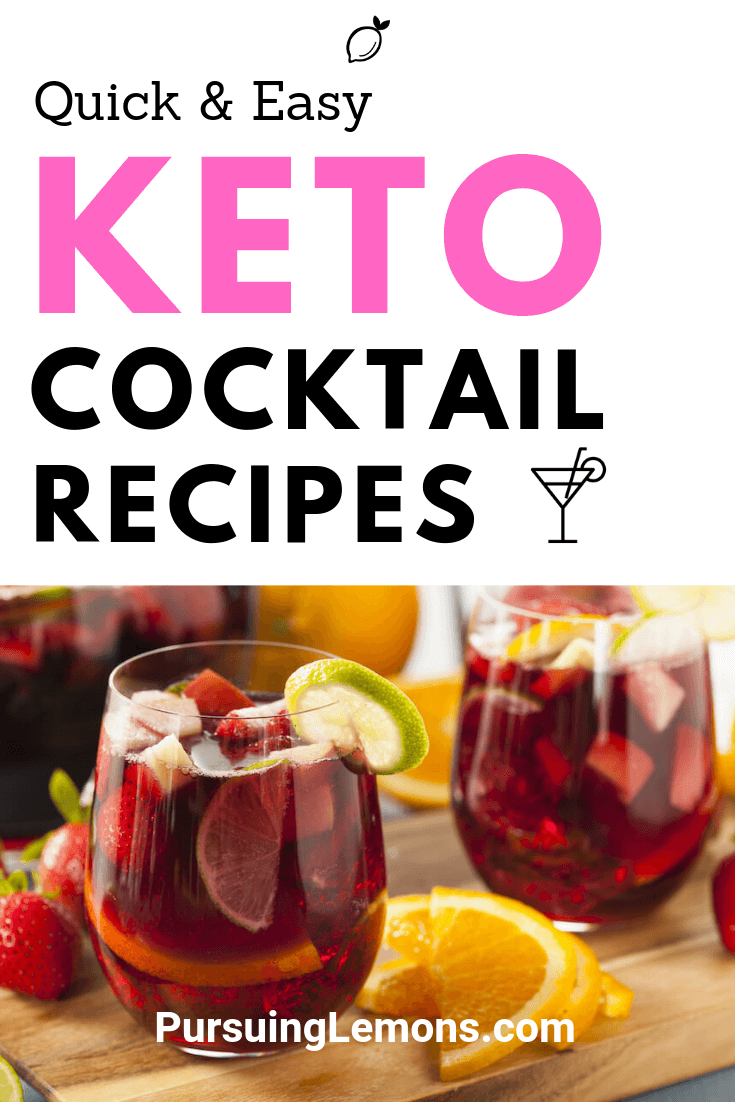 Hate to give up your favorite cocktails while being on the keto diet? These keto alcohol recipes will help you to stay in ketosis while re-creating your most-loved cocktails... but better!