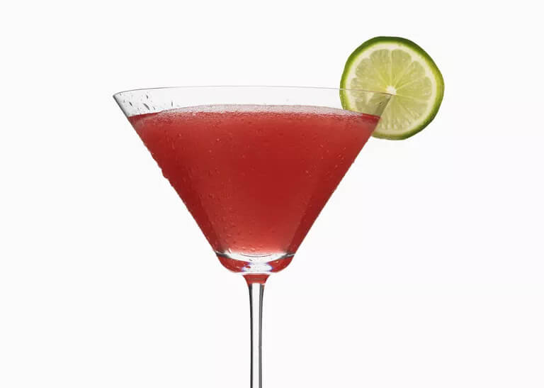 low carb Cosmo - Keto Alcohol Recipes