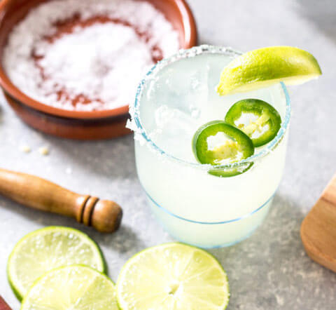 spicy margarita - Keto Alcohol Recipes