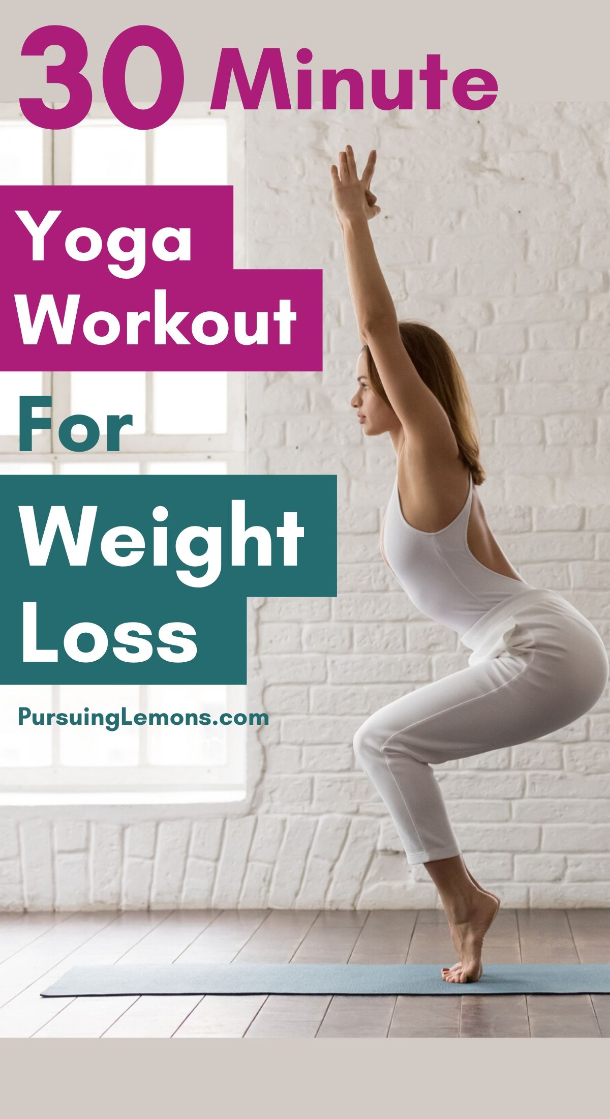 Are you looking for ways to lose weight This yoga routine will help you to lose weight and tone your body. Try out this 30 minute yoga workout for weight loss to get your dream body! #yoga #weightloss #yogaforweightloss #yogaworkout