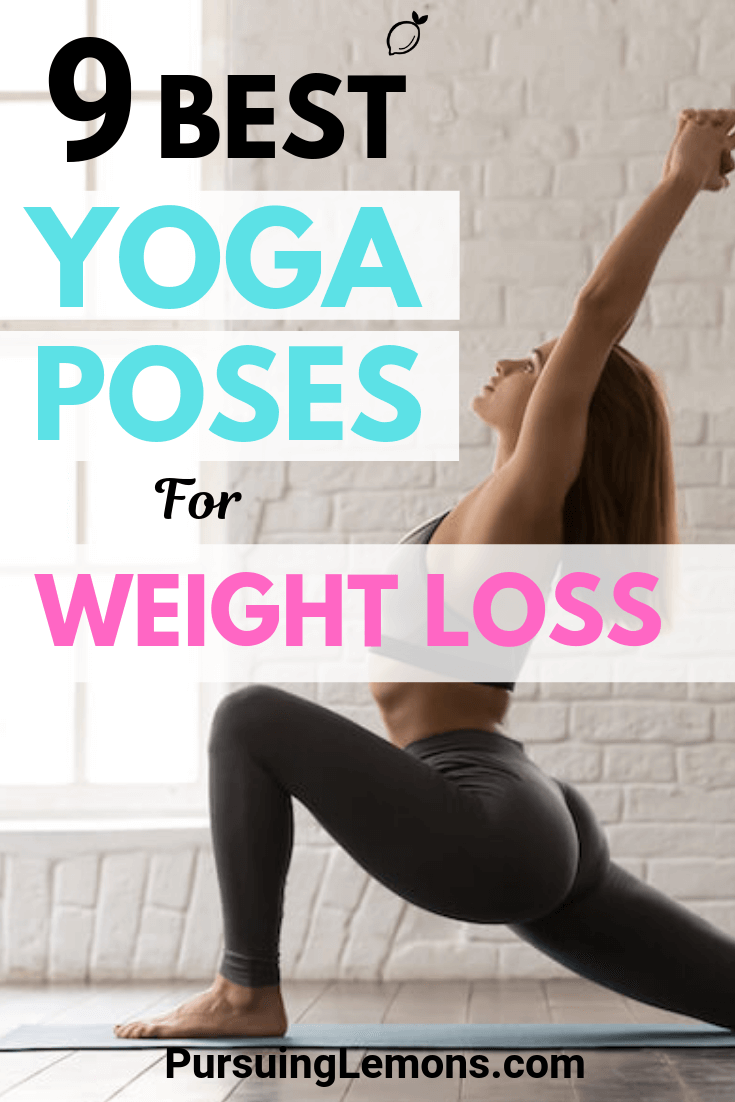 Start your weight loss journey by practicing these effective yoga poses designed to help you burn fats and shred those extra pounds!