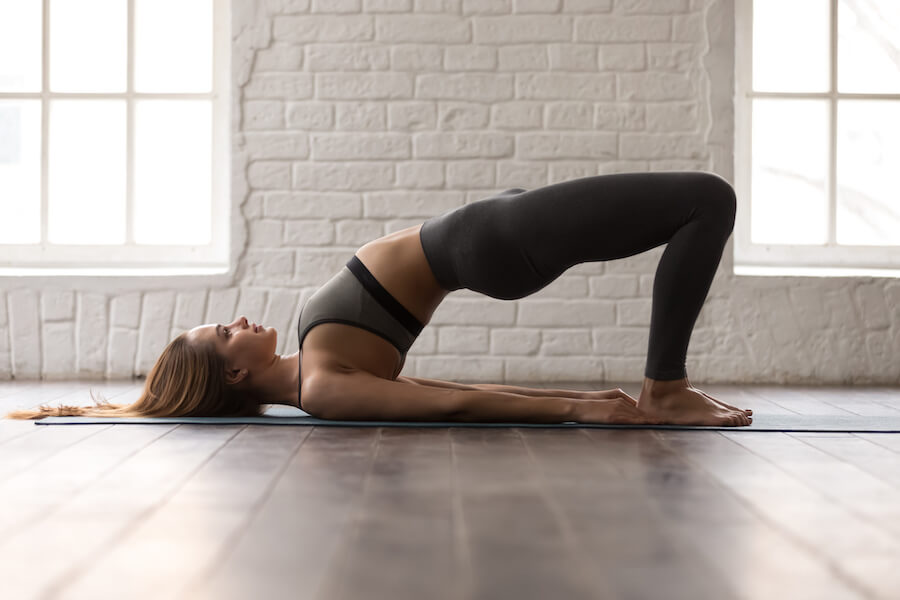 Bridge Pose - Yoga Poses for Weight Loss