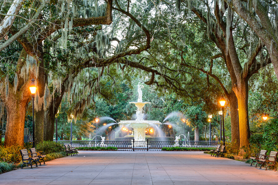 Forsyth Park - savannah - Places to visit in the USA