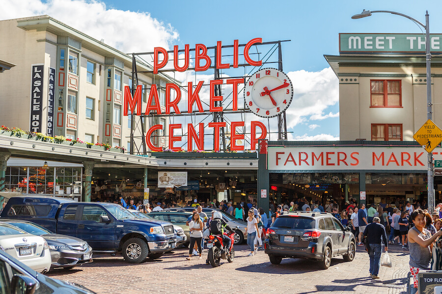 Pike Place Public Market Center in Seattle - Places to visit in the USA