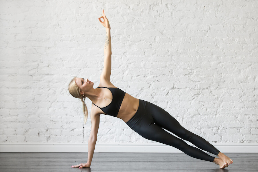 Side Plank Pose - Yoga Poses for Weight Loss