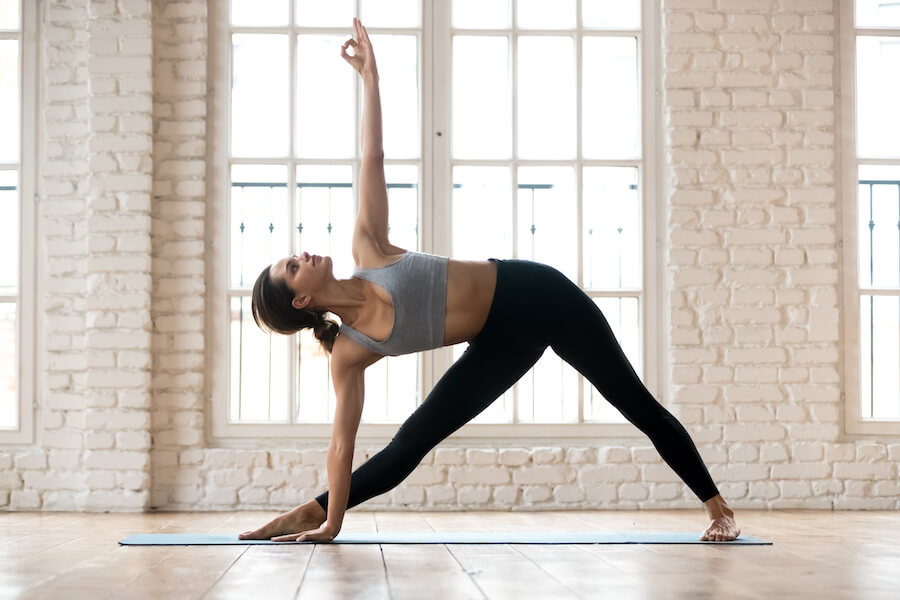 Triangle pose - Yoga Poses for Weight Loss