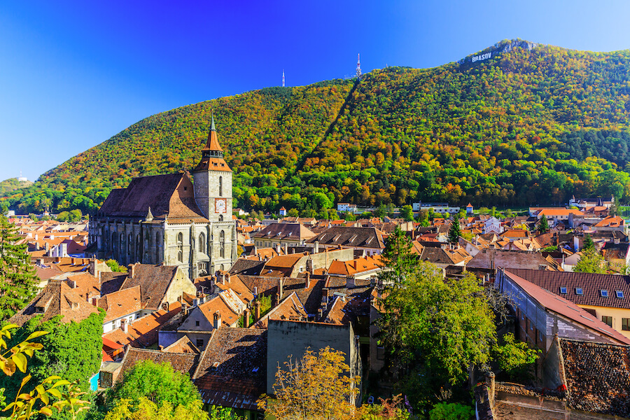 Brasov, Transylvania. Romania - Best places to visit each month of the year