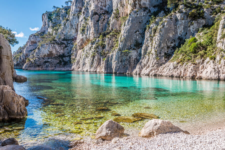 Calanque France - Best places to visit each month of the year