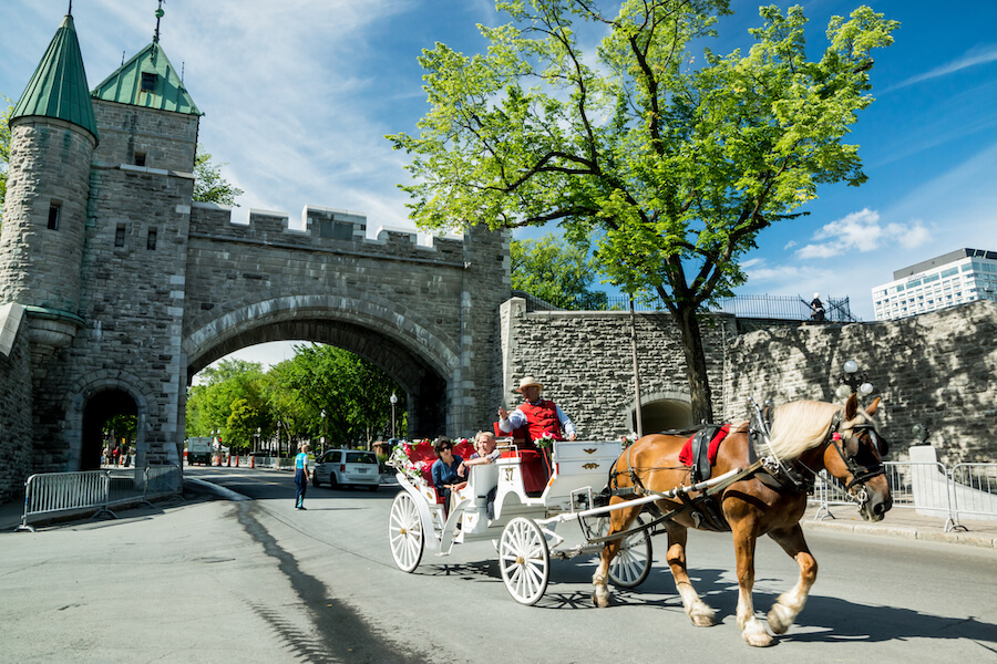 Carriage Trade in Old Quebec - Best places to visit each month of the year
