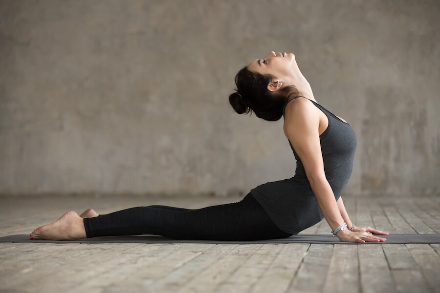 Cobra pose - Yoga for Older Women