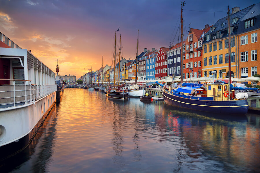 Copenhagen, Nyhavn Canal - Best places to visit each month of the year