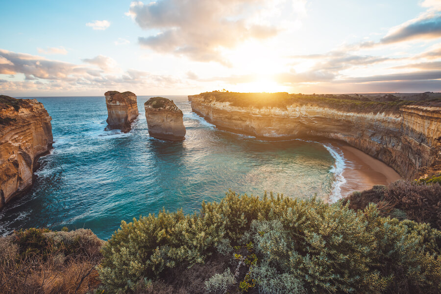 Loch ard Gorge, Port Campbell National Park, Australia - Best places to visit each month of the year