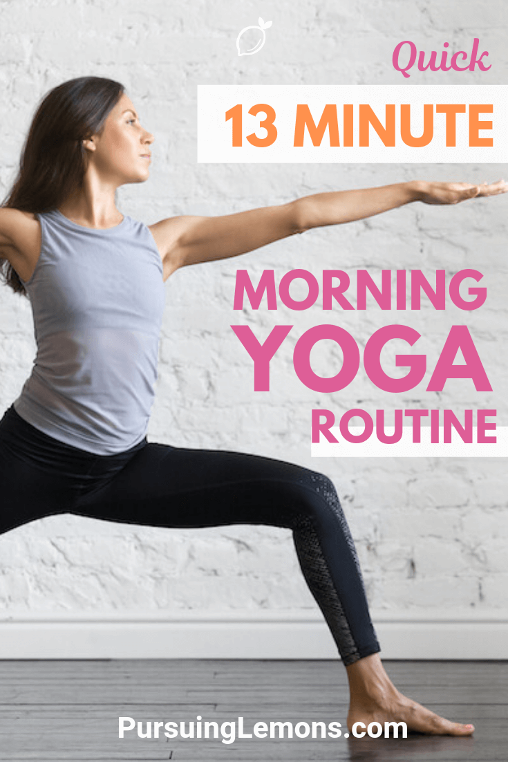 Struggling to start your day in the morning? This quick morning yoga routine is going to keep you energized throughout the whole day!