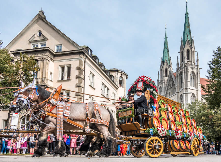 Oktoberfest 2018 - munich germany - Best places to visit each month of the year