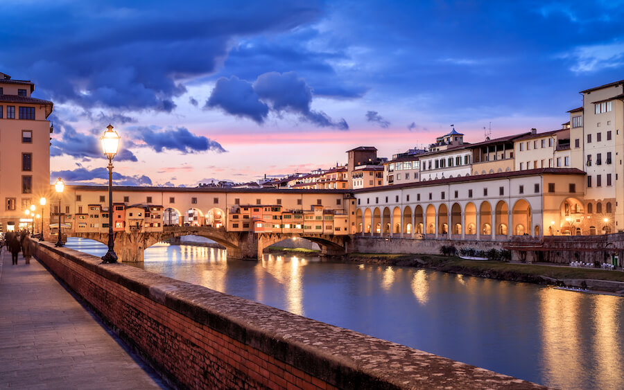 Ponte Vecchio Italy - Best places to visit each month of the year