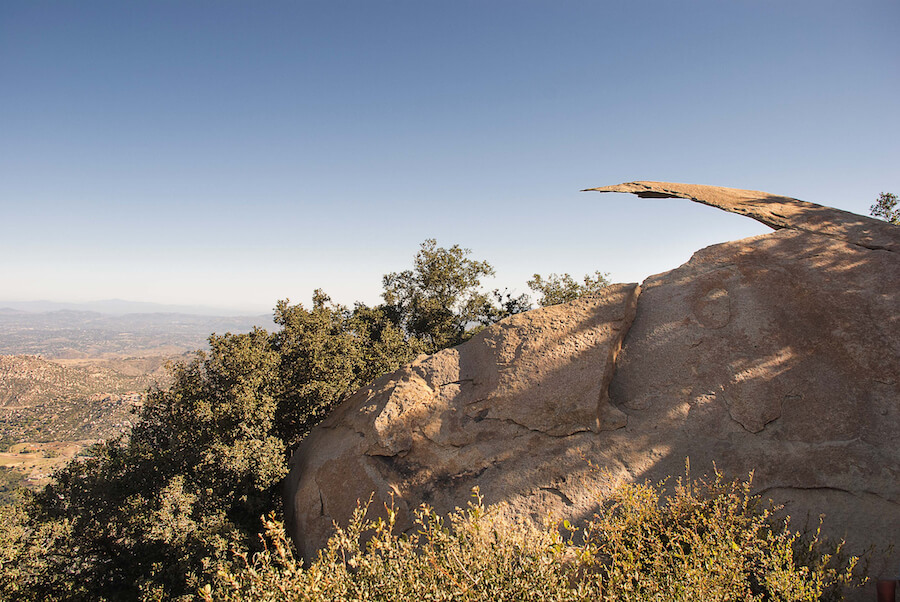 Potato Chip Rock, Mount Woodson near San Diego, California - Best places to visit each month of the year