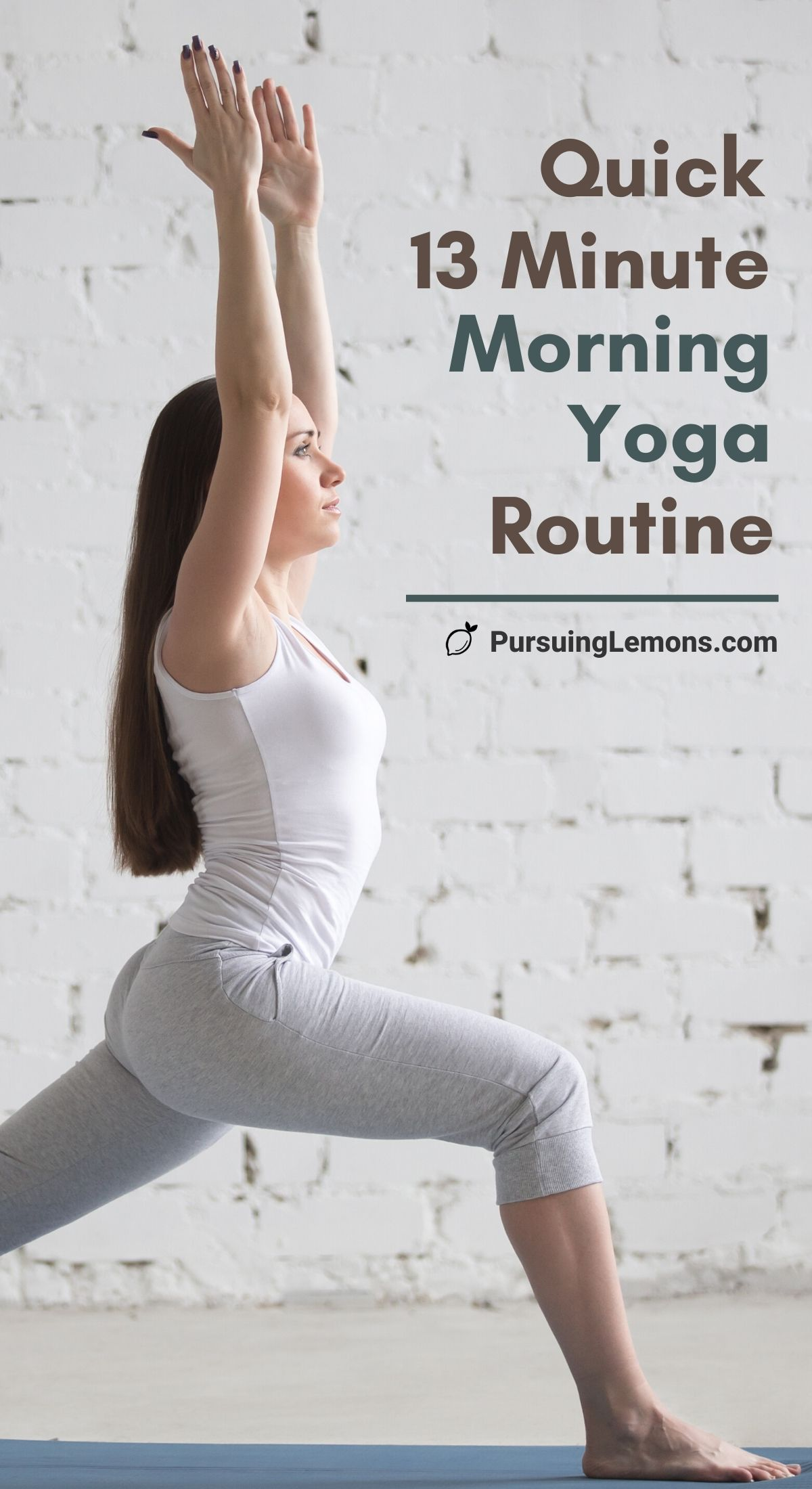 Morning yoga routines plus morning yoga stretches will help you start your day right, even if you're a yoga beginner! You can do this yoga at home too! Start your morning with these morning yoga poses for a better mood and energy! #morningyoga #yogaroutine #yoga