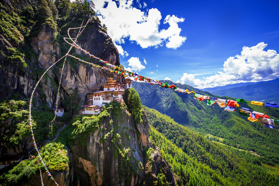 Tiger nest monastery, bhutan - Best places to visit each month of the year