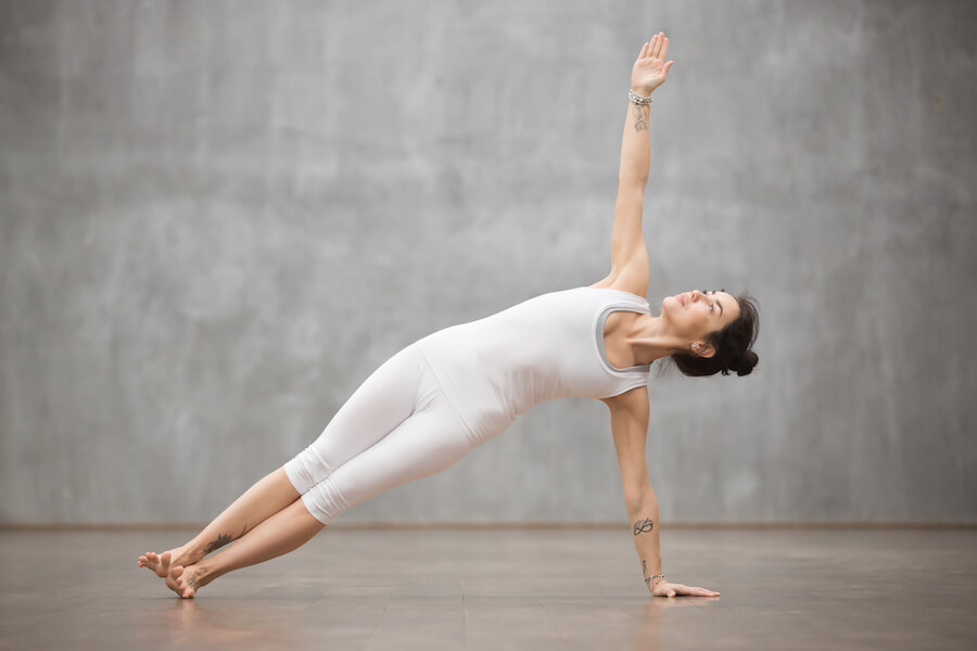 Beautiful Yoga: Side Plank posture - yoga workout for weight loss