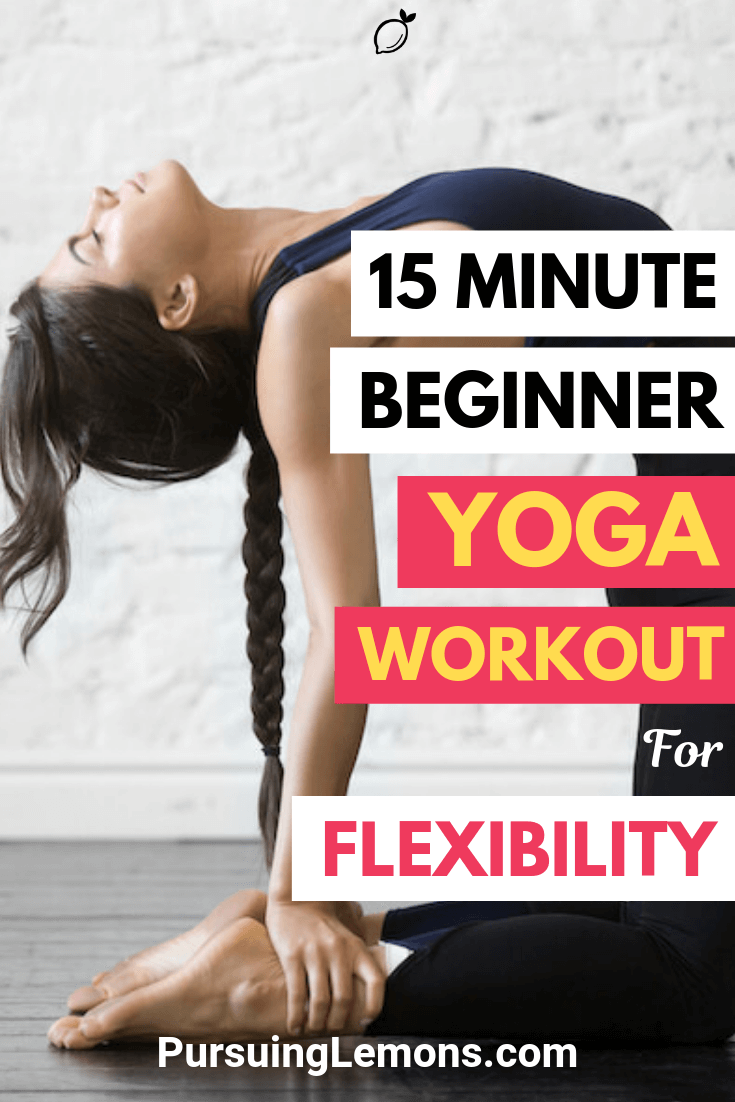 Looking for ways to improve your posture and strengthen your body? Take up this yoga workout for flexibility and see the results in your body!
