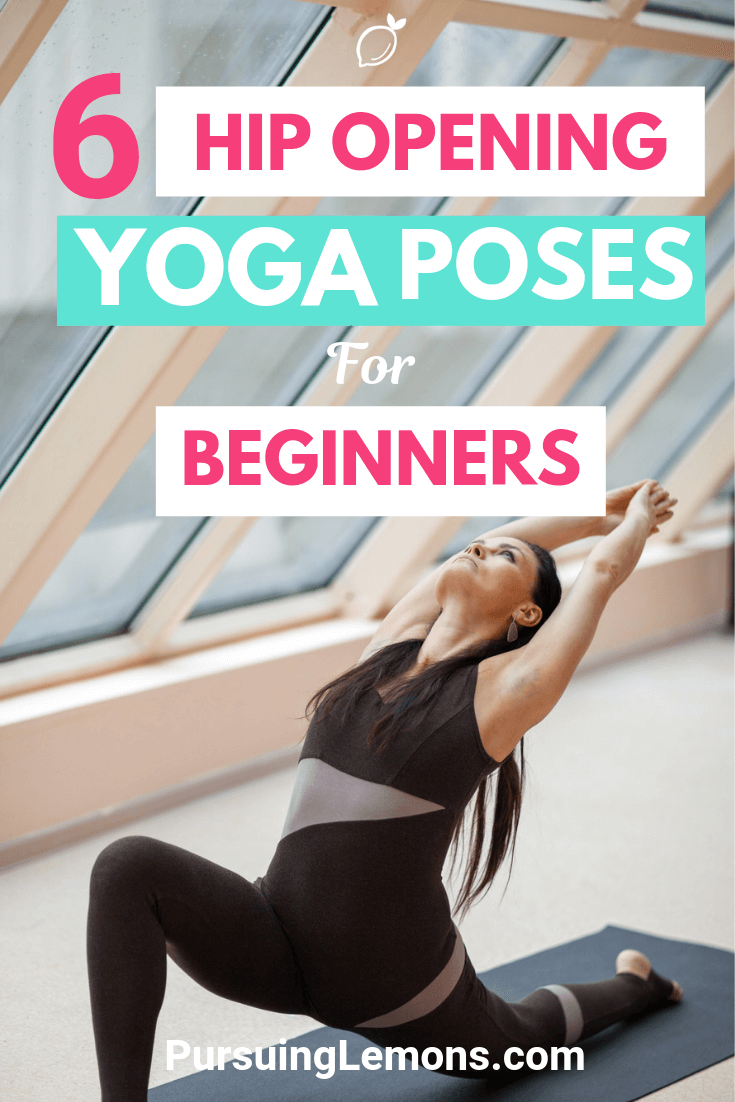 Feeling tight in your hips and feeling body aches? These hip opening yoga poses are designed to increase flexibility in the hips and keep your body active!
