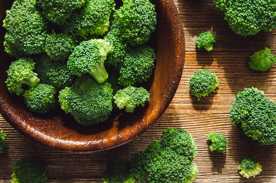 broccoli - foods that burn belly fat