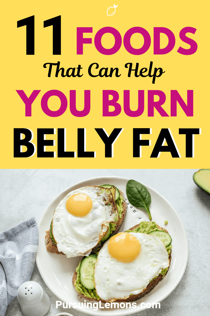 You can do sit-ups every day and your belly still looks the same. The food that you eat plays a huge role in losing weight. Here is the list of food you can eat to burn belly fat.