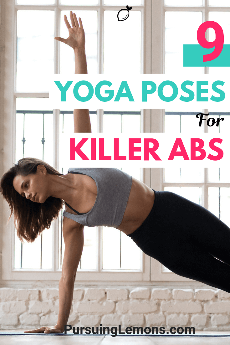 Yoga is a great workout to strengthen your body. If you're looking to build a strong core, these yoga poses for killer abs is perfect for you.