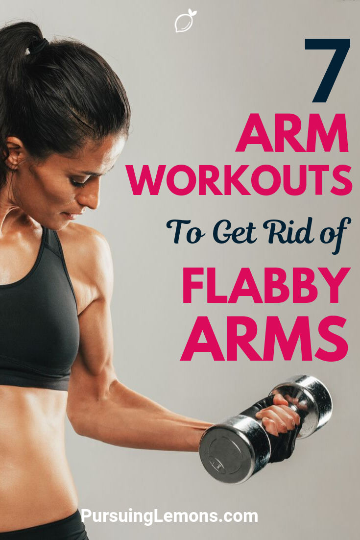 7 Arm Workouts To Get Rid of Flabby Arms | Are you struggling to get sexy arms? Try these arm exercises today to tone up your arms!