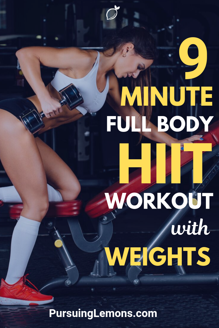 Full Body HIIT Workout With Weights | HIIT is great for burning fat. You can enhance these effects by combining your workout with weight to instantly boost the calories you burn.
